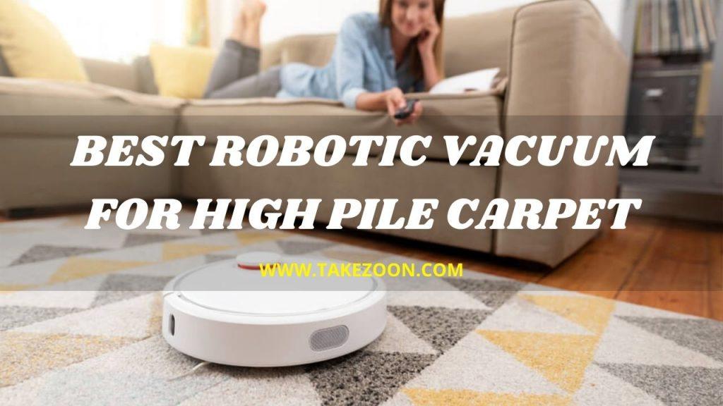 Best robotic vacuum for high pile carpet